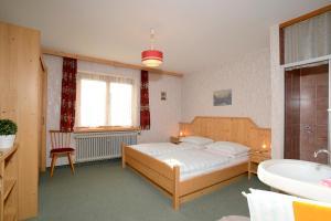 Ein Bett oder Betten in einem Zimmer der Unterkunft Ferienwohnung Nussbaumer