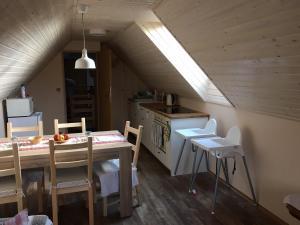 Restaurace v ubytování Apartmán Hrabětice Jizerské Hory