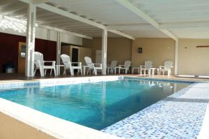 The swimming pool at or near Chacras del Mar