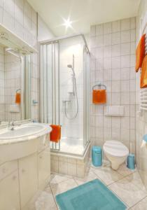 Ein Badezimmer in der Unterkunft Haus Sonnenruh