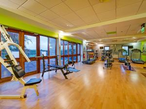 The fitness center and/or fitness facilities at GN Ballykisteen Golf Hotel
