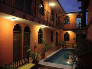 The swimming pool at or near Boutique Hotel Maharaja