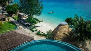 A view of the pool at Phi Phi Cliff Beach Resort-SHA Plus or nearby