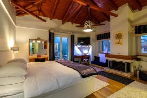 Ένα δωμάτιο στο Ξενώνας Έναστρον