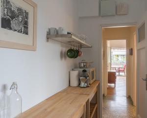 A kitchen or kitchenette at Truman Den Kolonaki Athens