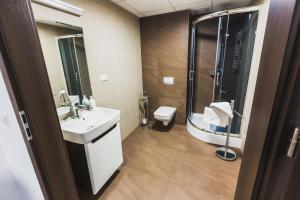 A bathroom at Czarno Na Białym