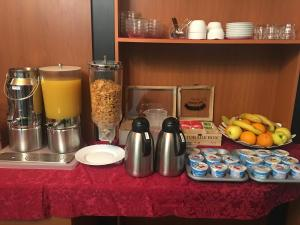 Coffee and tea making facilities at The Best Hotel