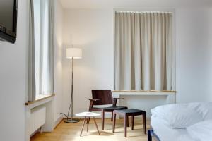 Гостиная зона в Hotel im Schlosspark