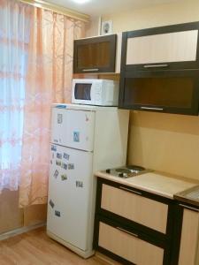 Кухня или мини-кухня в Apartment on Blyuhera