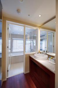 A bathroom at Hotel Metropolitan Akita