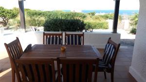 Un balcón o terraza de Villa Carina