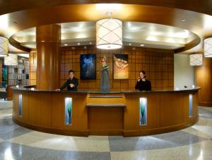 The lobby or reception area at Brookstreet Hotel - Ottawa West - Kanata