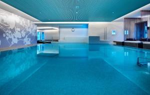 Der Swimmingpool an oder in der Nähe von Giardino Mountain