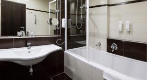 A bathroom at Parkhotel Plzen