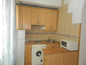 Una cocina o zona de cocina en Mira el Sol