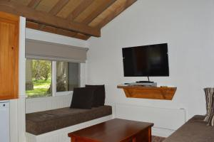 A television and/or entertainment center at Gundy Lodge