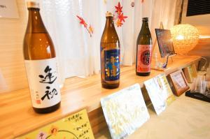 Drinks at Miyazaki Daiichi Hotel