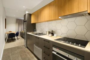 A kitchen or kitchenette at Quest Port Adelaide