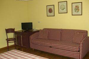 Area soggiorno di Hotel Alpino