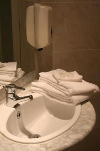 Een badkamer bij B&B Geste d' Alice