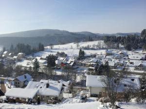Ferienwohnung Panoramablick im Winter