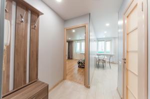 Ванная комната в Business Class Apartments