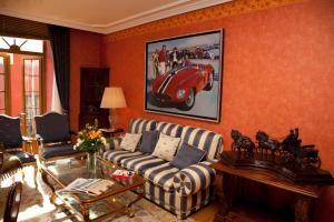 Zona de estar de Suites Cantarranas Calle Ancha