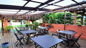 Um restaurante ou outro lugar para comer em Pousada Gaivotas