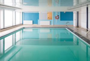 Het zwembad bij of vlak bij StudioWestdiep