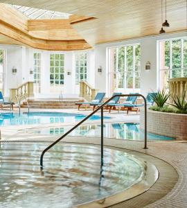 The swimming pool at or near Sprowston Manor Hotel, Golf & Country Club