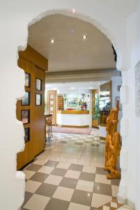 Vstupní hala nebo recepce v ubytování Hotel Berna
