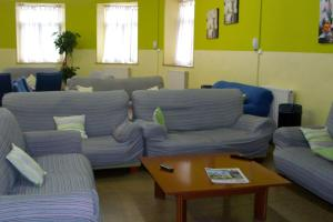 A seating area at Mañarikua Hostelling International