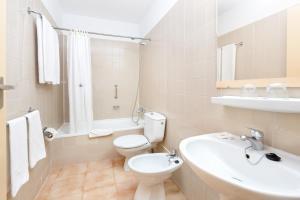 Een badkamer bij Alborada Ocean Club