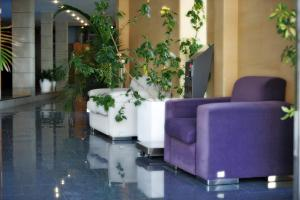 The lobby or reception area at Hotel Nadal