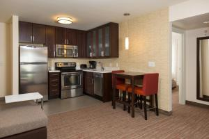 A kitchen or kitchenette at Residence Inn by Marriott Las Vegas Airport