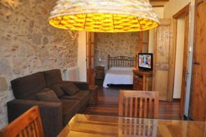 A seating area at Casa Cundaro