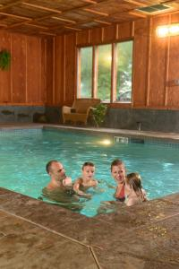 The swimming pool at or near Lake Quinault Lodge