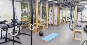 The fitness center and/or fitness facilities at uHOTEL