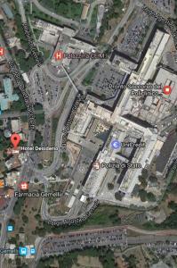 A bird's-eye view of Hotel Desiderio