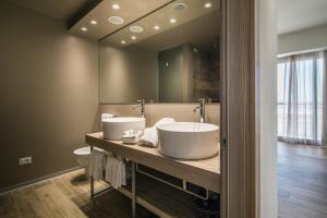 Koupelna v ubytování Hotel San Giorgio