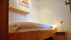 Posteľ alebo postele v izbe v ubytovaní Chalet Goldblick