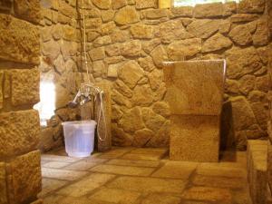 A bathroom at Indhrivanam