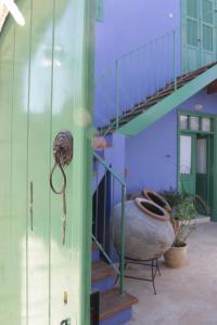 A bathroom at To Konatzi tis Marikas tzai tou Yianni