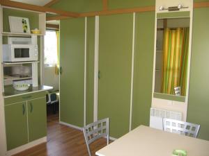 Küche/Küchenzeile in der Unterkunft Camping Sella