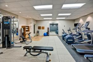 The fitness center and/or fitness facilities at DoubleTree by Hilton Downtown Wilmington - Legal District