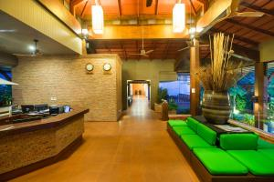 The lobby or reception area at Ayrest Hua Hin Hotel