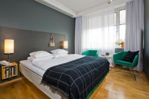 Postel nebo postele na pokoji v ubytování Mornington Hotel Bromma