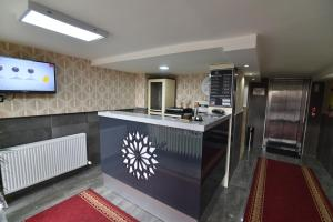 The lobby or reception area at Saltuk Hotel