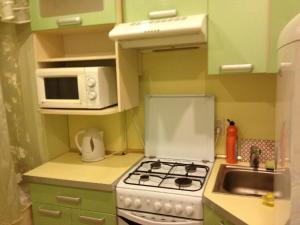 Кухня или мини-кухня в Center City Apartment
