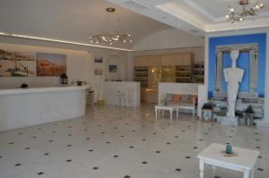The lobby or reception area at Naxos Island Hotel